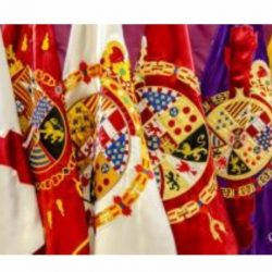 "10 de octubre en Segovia. EXPOSICIÓN ""Banderas Históricas de España"""