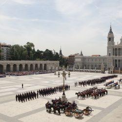 La Guardia Real celebra el 6 de mayo un Relevo Solemne extraordinario en el Palacio Real de Madrid