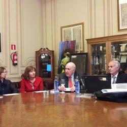 Nuestro Asociado Diego Estrada Fernández diserta en el casino de Madrid sobre  ARQUITECTURA CERVANTINA
