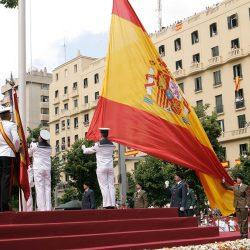 23 de septiembre. Jura de Bandera para personal civil en el Paseo del Prado