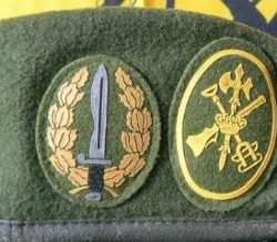 La Legión recupera sus 'boinas verdes'