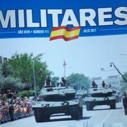 """NUMEROSOS ASOCIADOS DE AEME ESCRIBEN EN LA REVISTA """"MILITARES"""""""