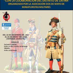 """Hasta el 26 de enero se puede visitar la """"XXXVI EXPOSICIÓN DE NAVIDAD 2017"""" de miniaturas militares."""