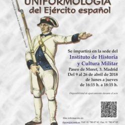 El Instituto de Historia y Cultura Militar organiza el XXI Curso de Uniformología Militar.