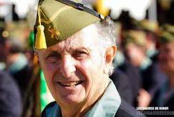 En homenaje a Ramón Moya Ruiz, Presidente de la Hermandad Nacional de Antiguos Caballeros Legionarios