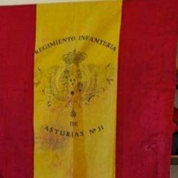 """Exposición histórica """"Banderas del Soldado"""": banderas de percha, banderas de mochila"""